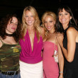 "Vivian, Jennifer, Simona and Audrey from VH1's ""Hollywood Relationships"" — Stock Photo"