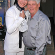 Michelle Lee and Robert Morse — Stock Photo #17243235
