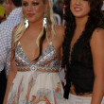 Jessica Harp and Michelle Branch — Stock Photo #17247429