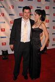 Jimmy kimmel y sarah silverman — Foto de Stock