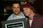 Jimmy Kimmel and Carrot Top — Stock Photo