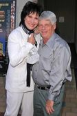 Michelle Lee and Robert Morse — Stock Photo
