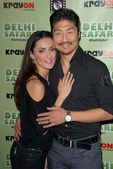 Mirelly Taylor, Brian Tee — Stock Photo