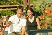 James Denton and Teri Hatcher — Stock Photo