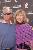 Stephen Meadows and Leeza Gibbons — Stock Photo