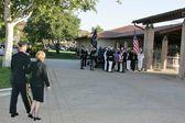 Entierro del ex presidente ronald reagan — Foto de Stock