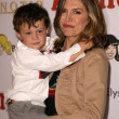Finola Hughes and son Dylan — Stock Photo #17251627