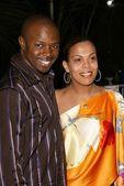 Sean Patrick Thomas and Aonika — Stock Photo