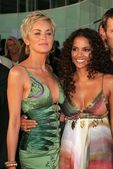 Sharon Stone and Halle Berry — Stock Photo
