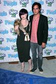 Kelly Osbourne and boyfriend Michael — Stock Photo