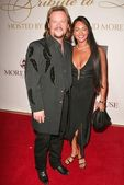 Travis Tritt and wife Theresa — Stock Photo