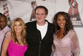 Carmen Electra, Quentin Tarantino and Vivica A. Fox — Stock Photo