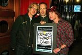 Andy , Bob Odenkirk and Carrot Top — Stock Photo