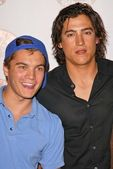 Emile Hirsch and Andrew Keegan — Stock Photo