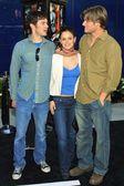Adam Brody, Rachel Bilson and Chris Carmack — Stock Photo