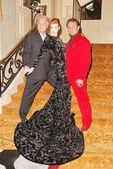Jerry Skeels, Kaitlin D'Estes and Randy McLaughlin — Stok fotoğraf