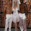 Stock Photo: Showboys and Showgirl