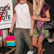 Nick Carter and Paris Hilton — ストック写真
