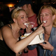 Jennifer Blanc and Laurie Holden — Foto Stock
