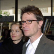 Gary Oldman and his girlfriend Ailsa Marshall — Stock Photo