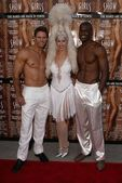 Showboys and Showgirl — Stock Photo