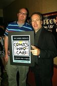 Brian Posehn and Bob Odenkirk — Stock Photo