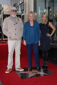 Lou Adler, Carole King, Kristin Chenoweth — Stock Photo