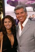 Christine Prado and Michael Buffer — Stock Photo