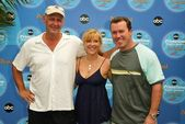 Nick Searcy, Jennifer Aspen and Rodney Carrington — Stock Photo