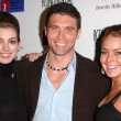 Anne Hathaway, Anson Mount and Lindsay Lohan — Stock Photo #17273411