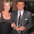 Frankie Avalon and his wife Kay — Stock Photo