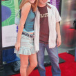 Scout Taylor Compton and Miko Hughes — Stock Photo