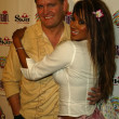 John Yarbrough and Traci Bingham — ストック写真