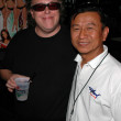 Stock Photo: Tom Leykis and buddy