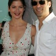 Постер, плакат: Jill Hennessy and husband