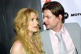 Thea Gill and Gale Harold — Stock Photo