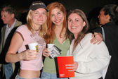 Kym Jackson, Jenna Mattison and Daniela Cretu — Stock Photo