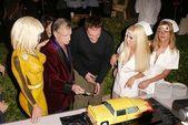 Hugh Hefner and Quentin Tarantino — Stock Photo