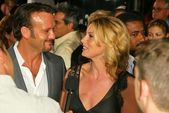 Tim McGraw and Faith Hill — Stock Photo