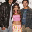 Kareem Abdul Jabbar Jr., Kerri Kasem and Diego Varas — Stock Photo