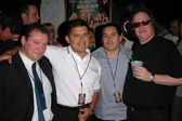 Tom Leykis and friends — Stock Photo