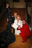 Kaitlin D'Estes, Jerry Skeels, Carol Connors and Randy McLaughlin — Stok fotoğraf