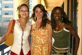 Marisa Ramirez, Carolina Bacardi and Nzinga Blake — Stock Photo