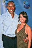 Henry Simmons and Jacqueline Obradors — Stock Photo