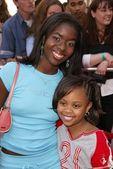Camille Winbush and Dee Dee Davis — Stock Photo