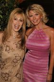 Rhonda Shear and Tamie Sheffield — Stock Photo