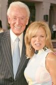 Bob Barker and Katie Couric — Stock Photo
