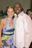 KaDee Strickland and Morris Chestnut — Stock Photo