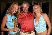 Darla Rothman, Scott Seligman and Kym Jackson — Stock Photo