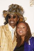 Bootsey Collins and Leila Hathaway — Stock Photo